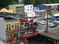 Juneau from my ship balcony