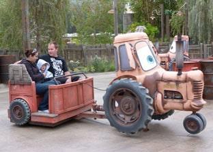 Cars Land Mater's Junkyard Jamboree