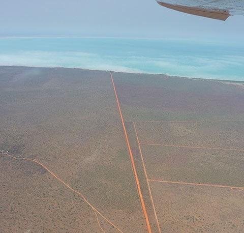 Kimberley desert roads