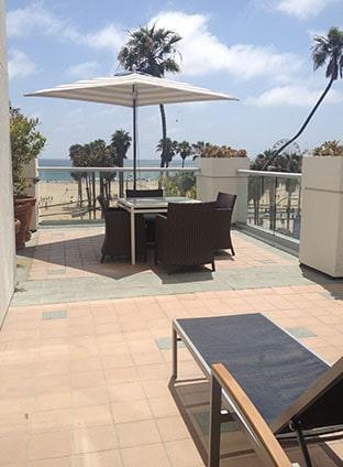Loews Santa Monica veranda suite