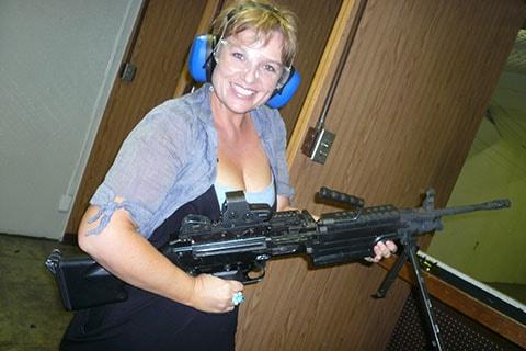 Las Vegas machine gun