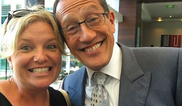 Selfie with Richard Quest