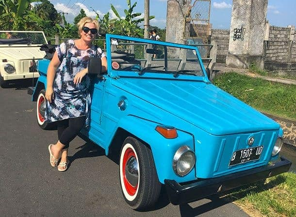 VW safari tour bali