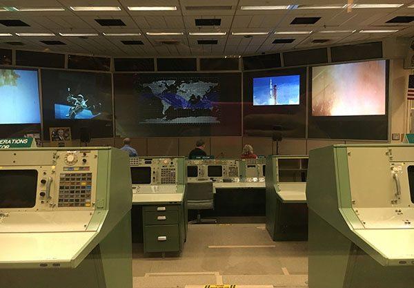 Mission control Houston