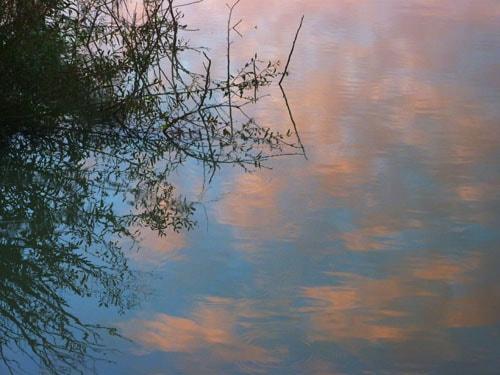 Murray River sunrise clouds