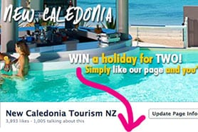 WIN trip New Caledonia