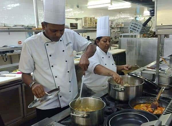 Outrigger Fiji cooking class
