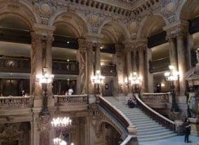 Palais Garnier steps