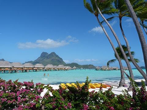Pearl resort Bora Bora