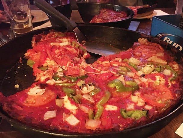 Piquod's deep dish pizza