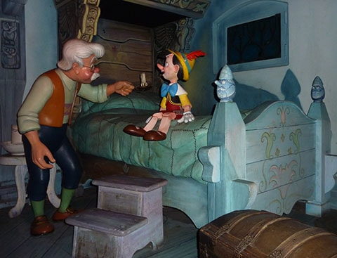 Gepetto and Pinocchio