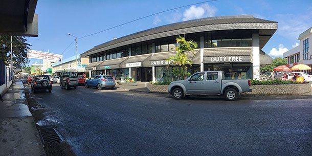 Port Vila shopping