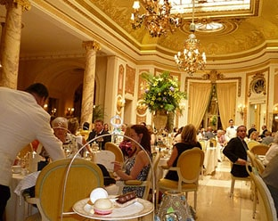 Ritz high tea