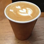 The Blue Bottle flat white!