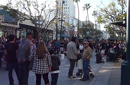Santa Monica buskers
