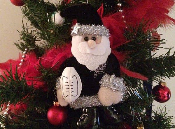 All Black Santa