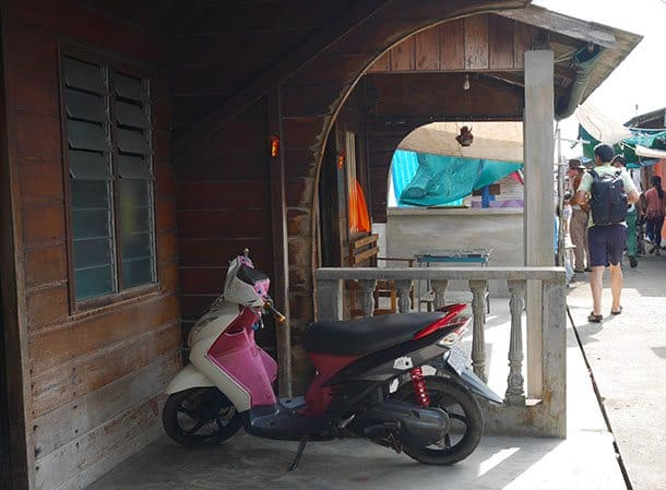 Fishing village scooter