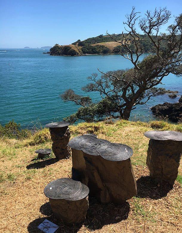Sculpture walk Waiheke