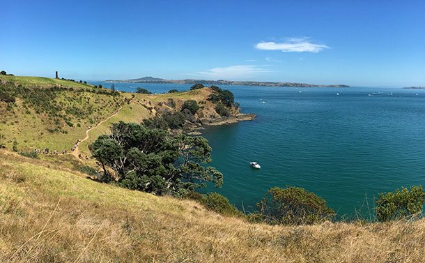 View from Waiheke