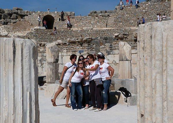 Selfie at Ephesus