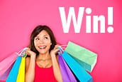 Win shopping spree