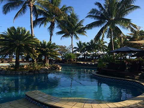 Sofitel Fiji pool