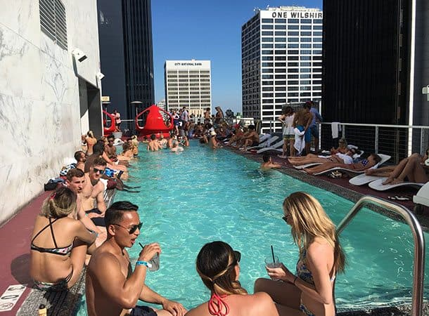 Standard pool LA