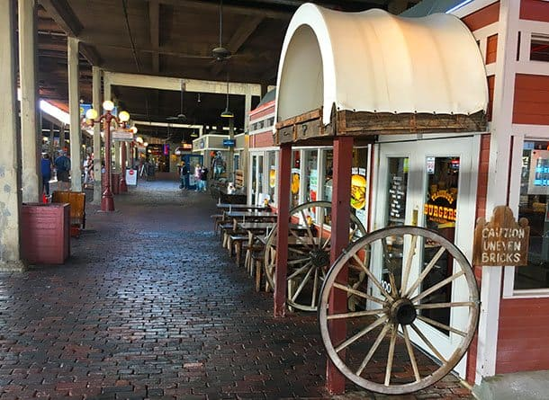 Stockyards shops