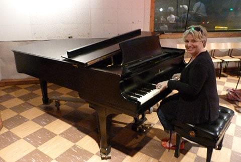 Steinway at Studio B