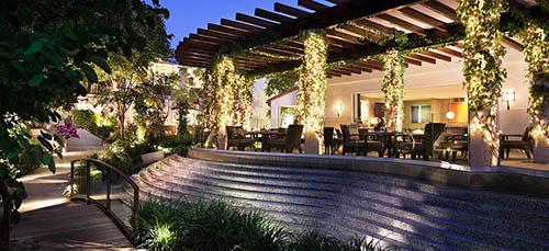 Sunset Marquis Cavatina restaurant