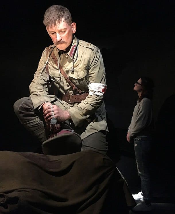 Te Papa WWI Gallipoli exhibit