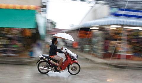 Thailand rainy season