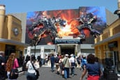 Transformers 3D ride