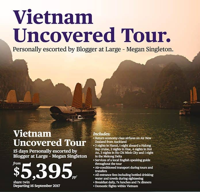 Escorted tour of vietnam