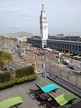 Vitale rooftop San Francisco