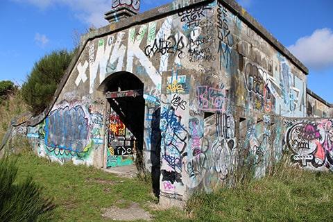 Fort Ballance bunkers Wellington
