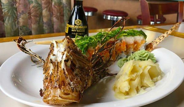 lionfish sushi roll