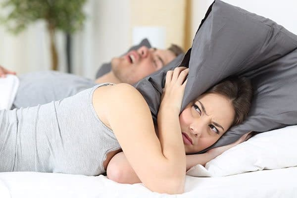 The anti snoring pillow